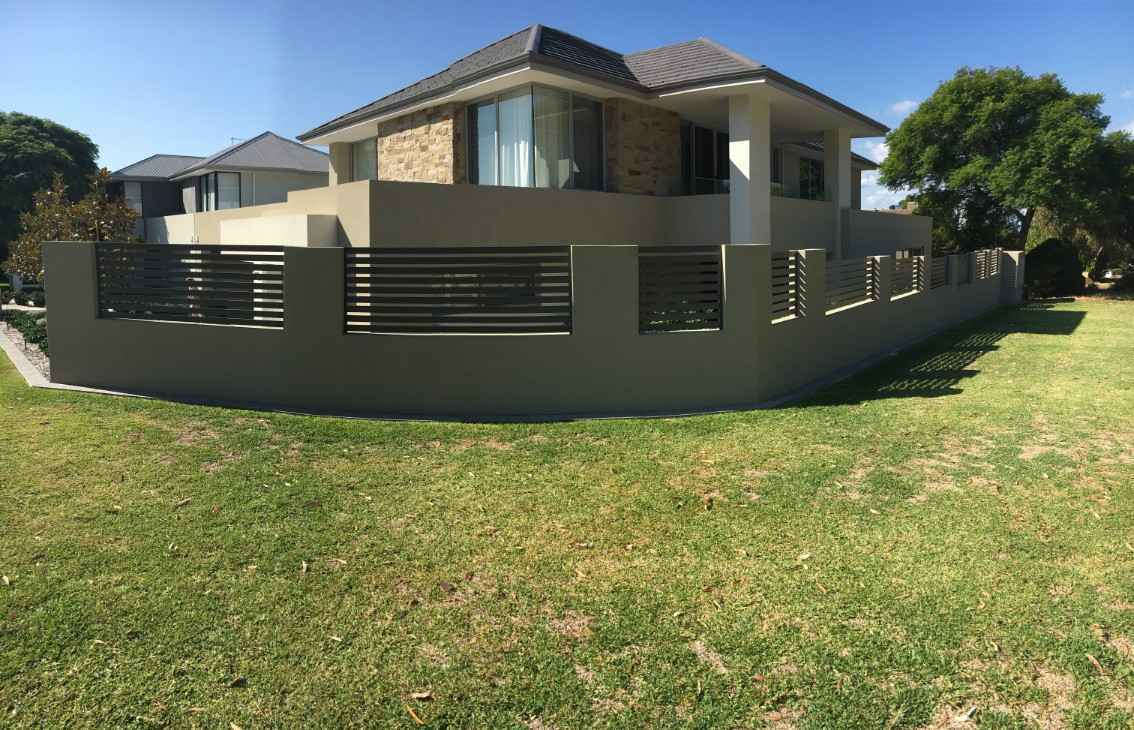 Installed Pool fence.