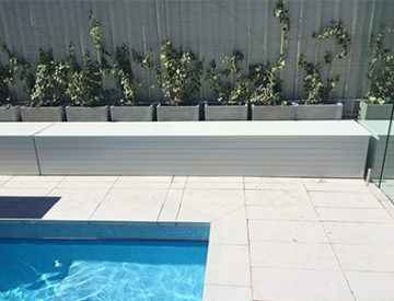 ABOVE GROUND POOL  BLANKET BOXES